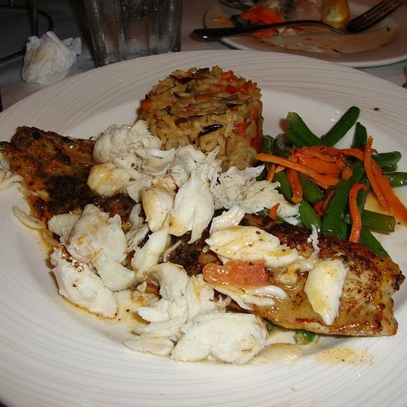 Grilled Fish w/ Lump Crab - Rusty Scupper - Baltimore, Baltimore, MD