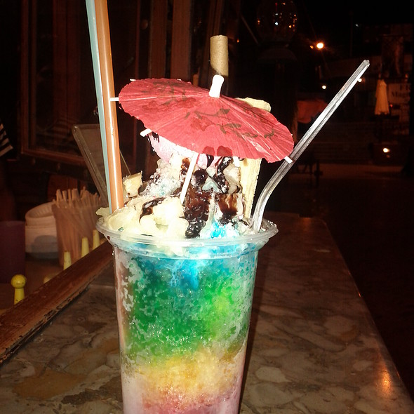 Lake View Islamabad: Ice Gola Stall Menu