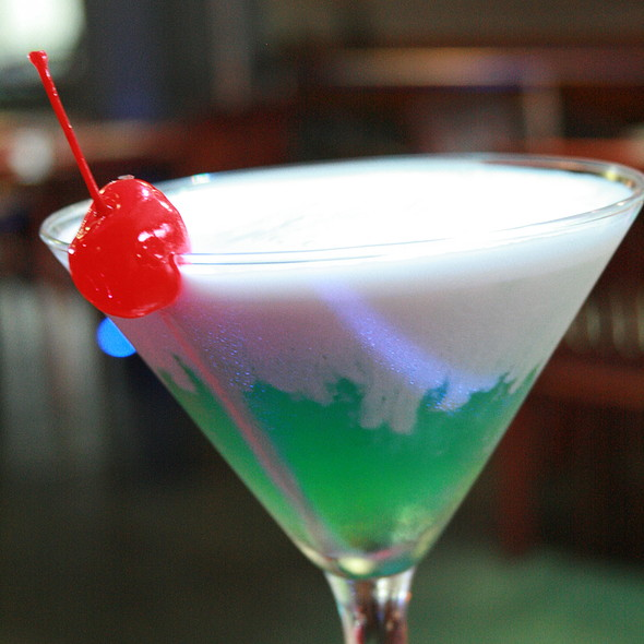 Mint Chocolate Martini - Coexist Café, Puerto Vallarta, JAL