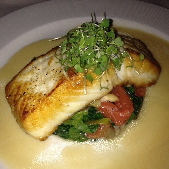 Halibut - Café Absinthe, Chicago, IL