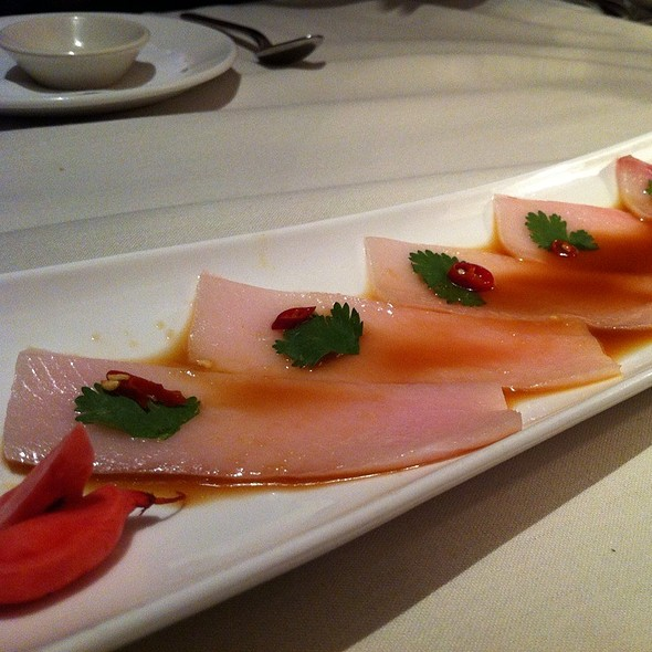 Yellowtail Carpaccio - The Hamilton, Washington, DC