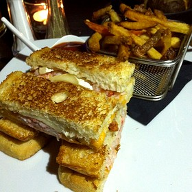 Lobster Grilled Cheese Sandwich - Hush Restaurant & Bar, Toronto, ON