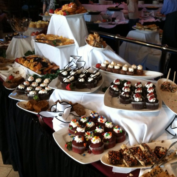 Sunday Brunch Buffet Pastry Selection - Adelphia Restaurant, Deptford, NJ