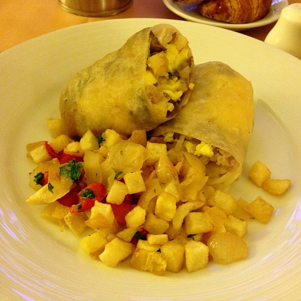 Breakfast Burrito - T. Cook's at Royal Palms Resort and Spa, Phoenix, AZ