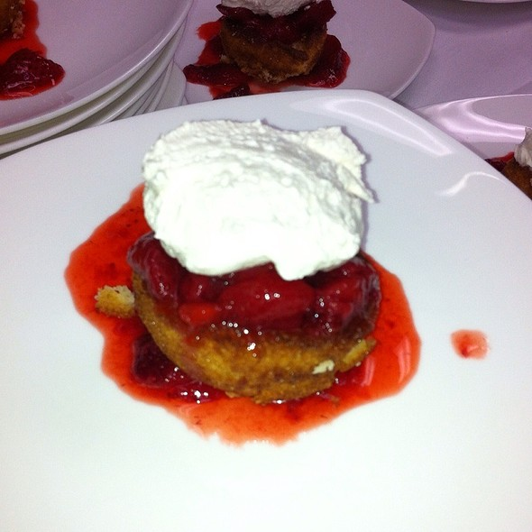 strawberry shortcake - Arthur's Prime Steakhouse, Little Rock, AR