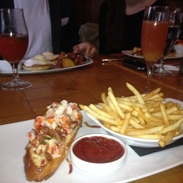Lobster Roll With Bacon - Scampo at The Liberty Hotel, Boston, MA