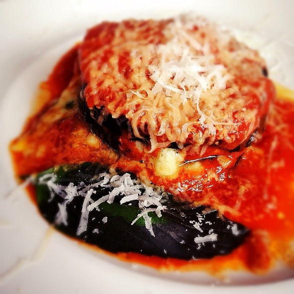 Baked Eggplant - Quattro - South Beach, Miami Beach, FL