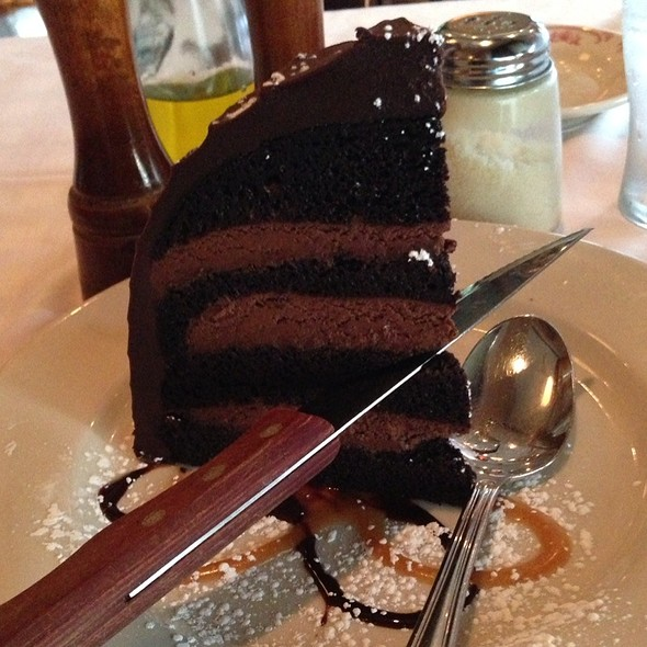 Chocolate Zuccotto Cake - Maggiano's - Indianapolis, Indianapolis, IN