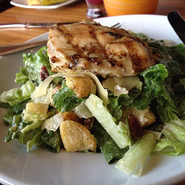 Chicken Caesar Salad - Twigs Bistro and Martini Bar - Wandermere, Spokane, WA