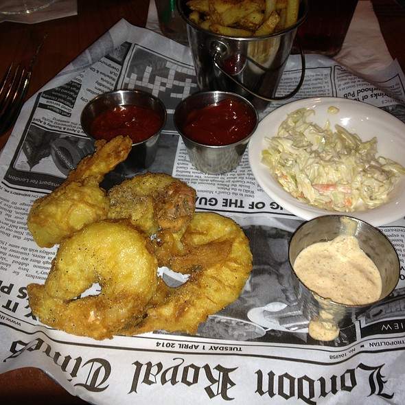 Fried shrimp - Severn Inn, Annapolis, MD