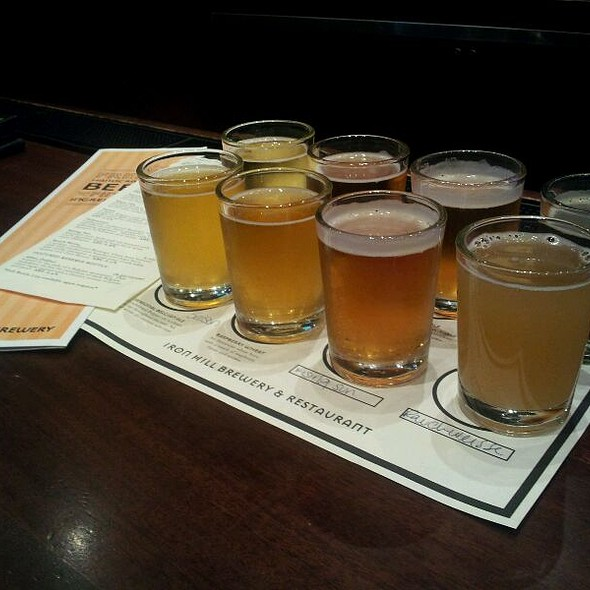 Beer Flight - Iron Hill Brewery - Newark, Newark, DE
