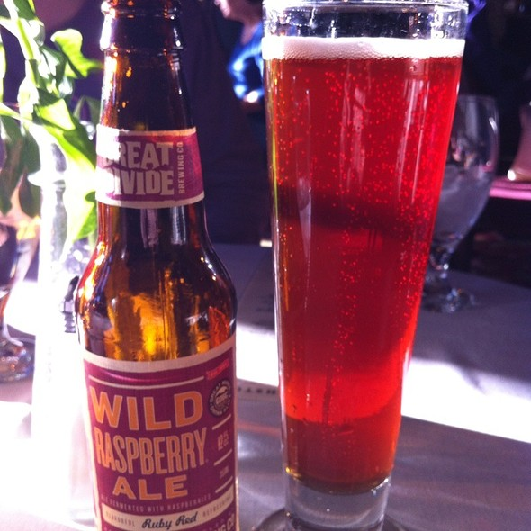 Great Divide Wild Raspberry Ale - Hearthstone Restaurant, Breckenridge, CO