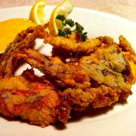 Soft Shell Crab - 42nd Street Oyster Bar, Raleigh, NC