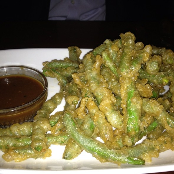 String Beans Tempura - Punch Restaurant, New York, NY
