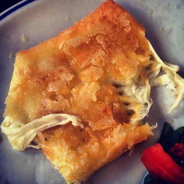 Saganaki Cheese - Ithaka, New York, NY