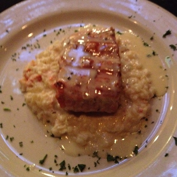 Sea Bass with Lobster Risotto - Mickey Mantle's Steakhouse, Oklahoma City, OK