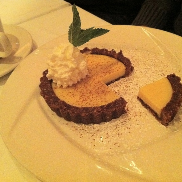 Key Lime Tart - The Quarter Bistro, Mariemont, OH