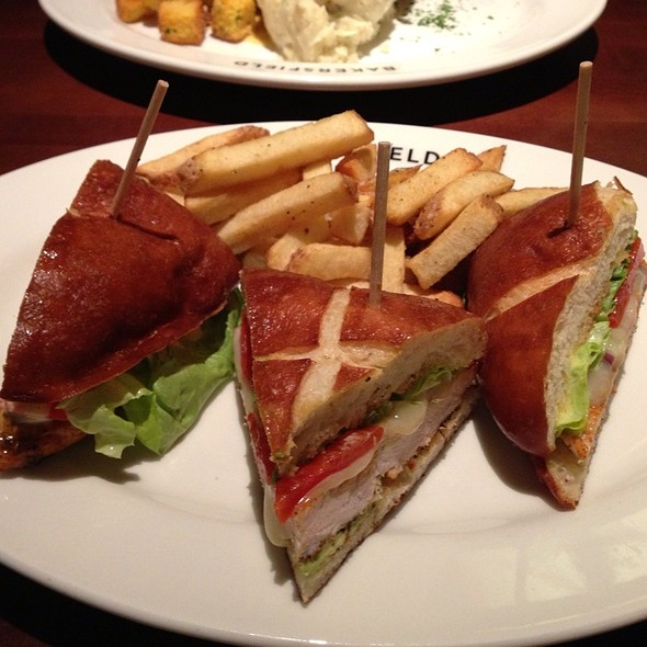 Grilled Chicken Sandwich with Bacon and Avocado - Bakersfield, Westmont, IL