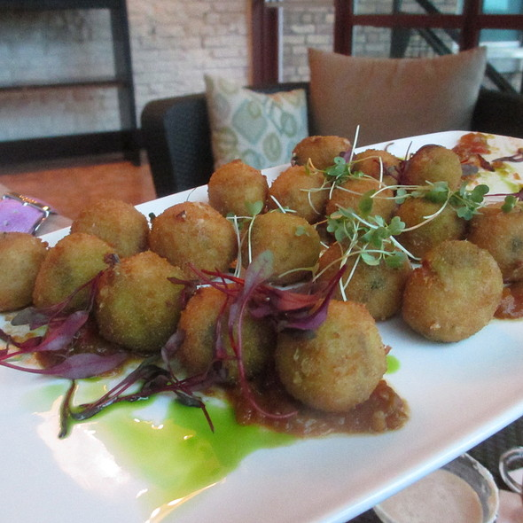 Capon & Chorizo Croquettes - assorted appetizer combo - Quay, Chicago, IL