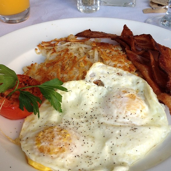 Bacon and eggs - Noe at the Omni Los Angeles, Los Angeles, CA