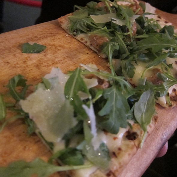 Sausage Arugula Lavash - Daily Grill - Downtown DC, Washington, DC
