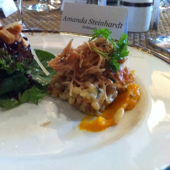 Rabbit Confit - Fairview Dining Room, Durham, NC