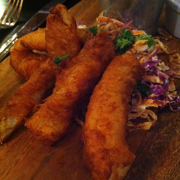 Fish and Chips - Tavern 29, New York, NY
