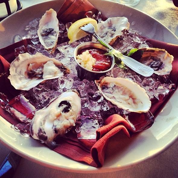 Oysters - Rusty Pelican Restaurant, Newport Beach, CA