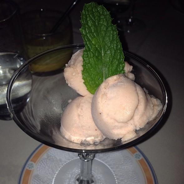 Watermelon Sorbet - Bombay Club, Washington, DC