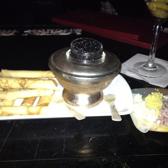Royal White Sturgeon Caviar - Russia House, Washington, DC