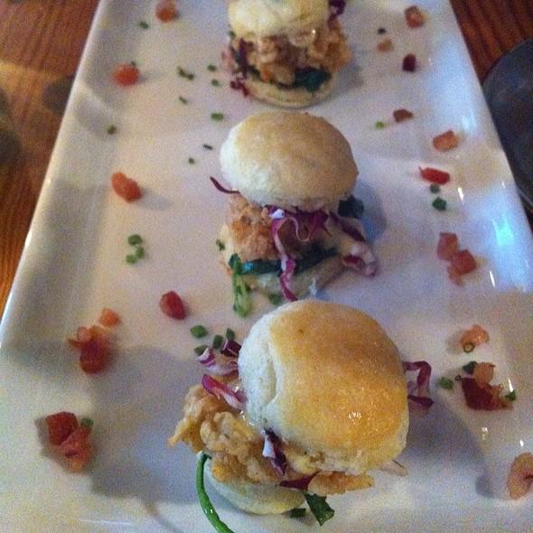 Oyster Slider - Bliss Restaurant, San Antonio, TX