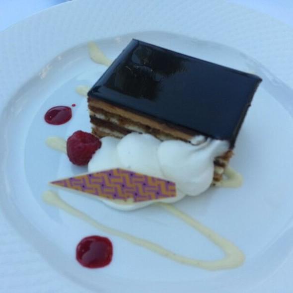 Tiramisu Cake - Waterline, Newport Beach, CA