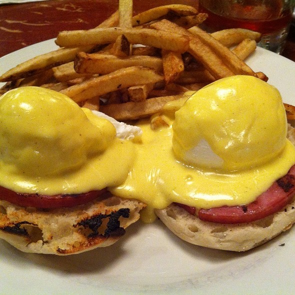 Eggs Benedict - Cupping Room Cafe, New York, NY