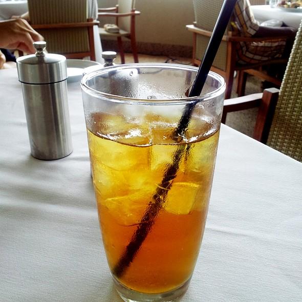 Iced Green Tea - Up Restaurant, Houston, TX