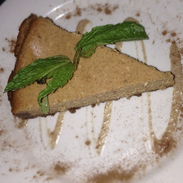 Pumpkin Cheesecake - Bogota Latin Bistro, Brooklyn, NY