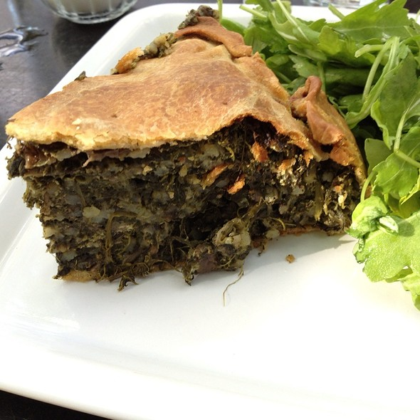 Vegetable Tart - Petersham Nurseries Cafe, Richmond, Greater London