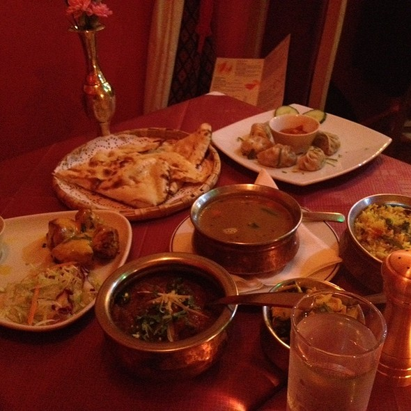 Assorted Dishes - Namaste Kathmandu, Edinburgh