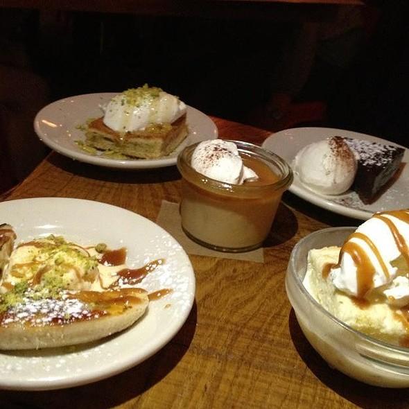 Assorted Dessert  - Café Ba-Ba-Reeba, Chicago, IL
