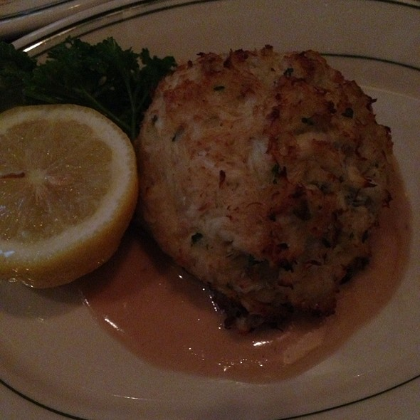 Jumbo Lump Crab Cake Appetizer - The Grill on the Alley - Chicago, Chicago, IL