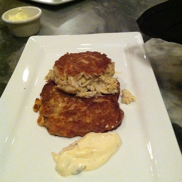 Smoked Crab Cake - Pierpoint Restaurant, Baltimore, MD