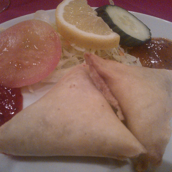 Vegetable Samosa - Standard Balti House, London