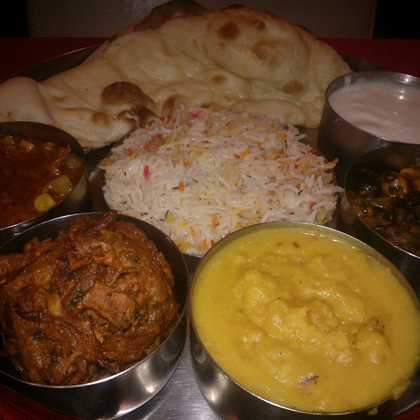 Vegetarian Thali - Standard Balti House, London