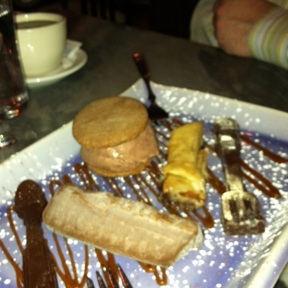Chocolate Plate - Pierpoint Restaurant, Baltimore, MD