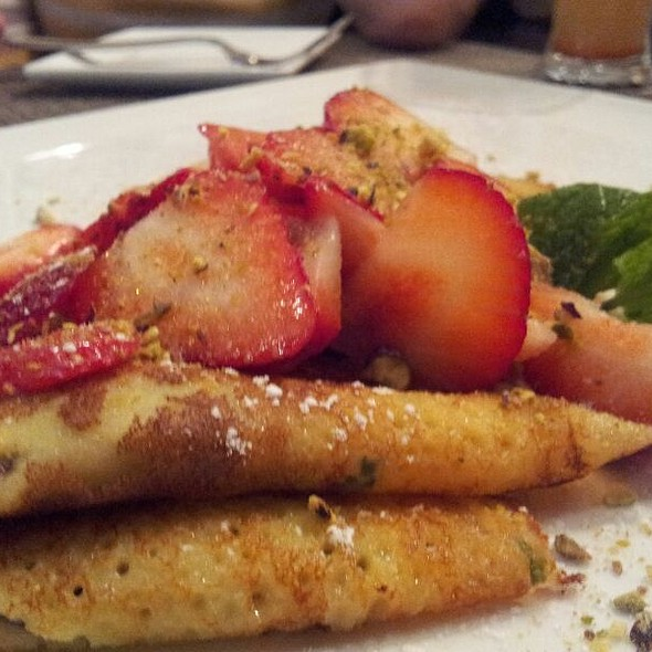 Nutella And Strawberry Crepes - White Oak Kitchen + Drinks, Houston, TX