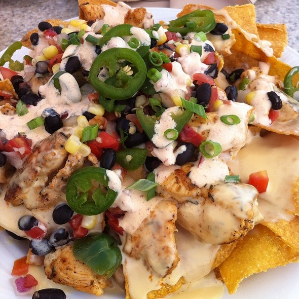 Grilled Chicken Nachos - Quarterdeck Waterfront Dining, Hilton Head Island, SC