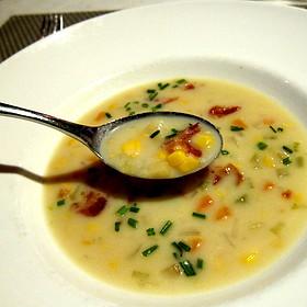 Corn Chowder - 8407 kitchen bar, Silver Spring, MD