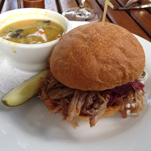 Duck Confit Sandwich - Madison's, Highlands, NC