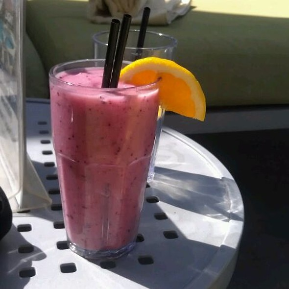 Fruit Smoothie - ZuZu at Hotel Valley Ho, Scottsdale, AZ