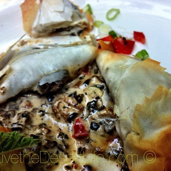 Mushroom Strudel - The Ranch House, Ojai, CA