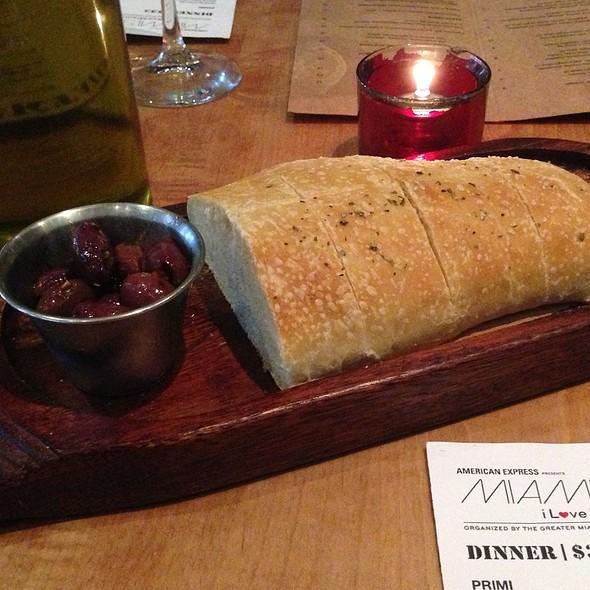 Italian Bread - Cibo Wine Bar-Coral Gables, Miami, FL